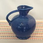 Fiestaware Sapphire Carafe Fiesta Blue Retired 60 oz Water Jug Pitcher