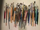 Artist Paint Brush Collection Lot