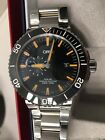 ORIS AQUIS SMALL SECOND, DATE 2017 Model Amazing 45mm Swiss Made with ALL box ++