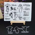 HOT Metal Rubber Cut Dies Clear Stamp Paper Card Embossing Stencils Scrapbooking