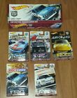 2017 HOT WHEELS RLC EXCLUSIVE CAR CULTURE PREMIUM SET 0 5 DATSUN CAMARO ETC HTF