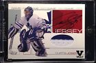 2001-02 BAP Signature Series Curtis Joseph Game Used Jersey Auto Maple Leafs 10