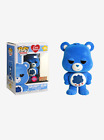 FUNKO POP! ANIMATION CARE BEARS GRUMPY BEAR FLOCKED EXCLUSIVE (IN STOCK)