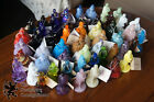 Complete Set 52 Boyd Crystal Art Glass Colonial Doll Figures Men