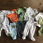 Carters Baby Boy Lot 9 Pieces Dinosaur New Styles 3 Month