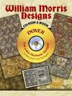 William Morris Designs CD ROM and Book Dover Electronic Clip Art