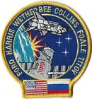 NASA SPACE SHUTTLE STS 63 MISSION PATCH