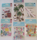 Jolees Boutique Scrapbooking Stickers Lot HAWAII Hula Palms Tropical Pineapple