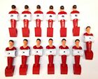 Carrom Foosball Table Red Men -  Set of 13