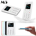 M5 Thin Bar Mini Card Cell Phone Pocket Mobile Phone Low Radiation GSM Clock