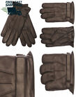 EEM Men's leather glove MORTEN, made of genuine hairsheep nappa with velcro...