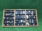 Vintage Hamilton Drawer Printer Tray letterpress typeset wood shadow box curio