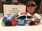 2016 Action Kyle Busch Red White Blue 1 24 Liquid Paint Autographed 008 of 25