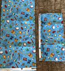 ALPHABET SOUP By Stella Blue For South Sea Imports Yardage 2 Pieces