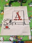 Snoopy Peanuts Canvas Food Fruit Bag Lunch Bag Tote bag