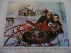 Holiday Sleigh Ride Heaven and Earth Designs Brand New Cross Stitch Pattern