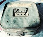 WELLS FARGO 1906 METAL BANK BOX W/ PAT APPLD FOR LOCK HINGED EXTREMELY RARE FIND