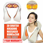 Shiatsu Relax Pillow Electric Massager Neck Back Shoulder Machine with Heating