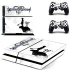 Kingdom Hearts PS4 Skin Stickers Sny Playtation 4 console +2 Controllers sticker