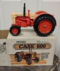 CASE 600 Diesel Tractor WF Ertl 289 Die Cast Metal Farm Toy Display Sign VTG NOS
