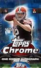 2014 Topps Chrome Football Hobby Factory Sealed 12 Box Case CARR GARAPPOLO AUTO