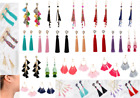 Womens Vintage Crystal Tassel Drop Ear Stud Earrings Jewelry 29 Choices Fashion