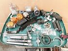 Harley Ironhead Sportster Shovelhead Parts Lot Pegs Points Condensor Advance Ect
