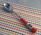 Fiestaware Flamingo Slotted Fork Fiesta Retired Pink Ceramic Handled NWT