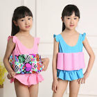 Child Girls Float Swimmsuit Suit with Floats Swimming Costume Buoyancy Swimwear