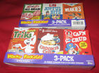 2010 TOPPS WACKY PACKAGES ANS7 CEREAL #7 C1-C6 - 2 BOX LOT NEW CONDITION