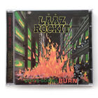 LAAZ ROCKIT - CITY'S GONNA BURN +2 CD, KILL AGAIN RECORDS REISSUE 2016 NEW
