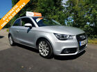 Audi A1 14  122ps  S Tronic 2012 Sport Silver 3dr Automatic car finance FSH