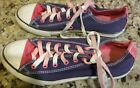 CONVERSE ALL STAR Cuck Taylor Juniors Womens Size 5 Canvas Shoes Sneakers Purple
