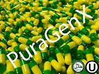 EMPTY GELATIN COLOR CAPSULES GREEN YELLOW SIZE 1 KOSHER US QUALITY