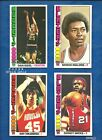 1976-77 Topps Basketball lot of 32 diff cards Malone Issel Wicks Tomjanovich