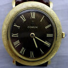 18K Solid Gold Corum Gentleman's Mechanical Wristwatch 57122 Circa 1970