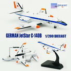 GERMAN JetStar C 140B Inflight 1 200 DIE CAST Aircraft plane Model