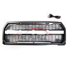 Front Grille Grill For 2015 2016 2017 Ford F150 Raptor With LOGO LED Lihgts