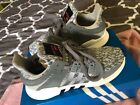kids gray adidas sneaker US size 4 clean condition