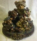 RARE BOYDS BEARS #227804 GARY, TINA, MATT, BAILEY...FROM OUR HOME TO YOURS