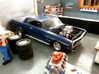 Built, AMT 1/25 Scale 1964 Chevy Impala Street Machine 70s style (for) diorama