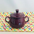 Fiestaware Heather Small Sugar Bowl with Lid Fiesta Retired Purple
