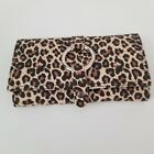 Vinyl Leopard Jewelry Purse Great Condition Free Shipping