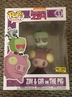 Funko POP! Rides Nickelodeon Invader Zim & GIR on the Pig Hot Topic Exclusive