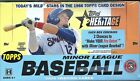 2015 Topps Heritage Minor League Factory Sealed Hobby Box Kyle Schwarber