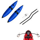 2Pcs Kayak Canoe Inflatable Outrigger Stabilizer Water Float  Standing Pole