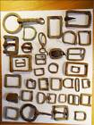 Old Horse Tack Mostly Brass Metal Detector Finds From River Thames London 1 kg