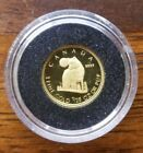 Canada 1/25 oz Gold Coin Timber Wolf