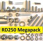 Yamaha RD250LC - Nut / Bolt / Screw Stainless MegaPack