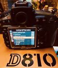 Nikon D810 363MP Digital SLR Camera Body OnlyVery Low Shutter CountMint
